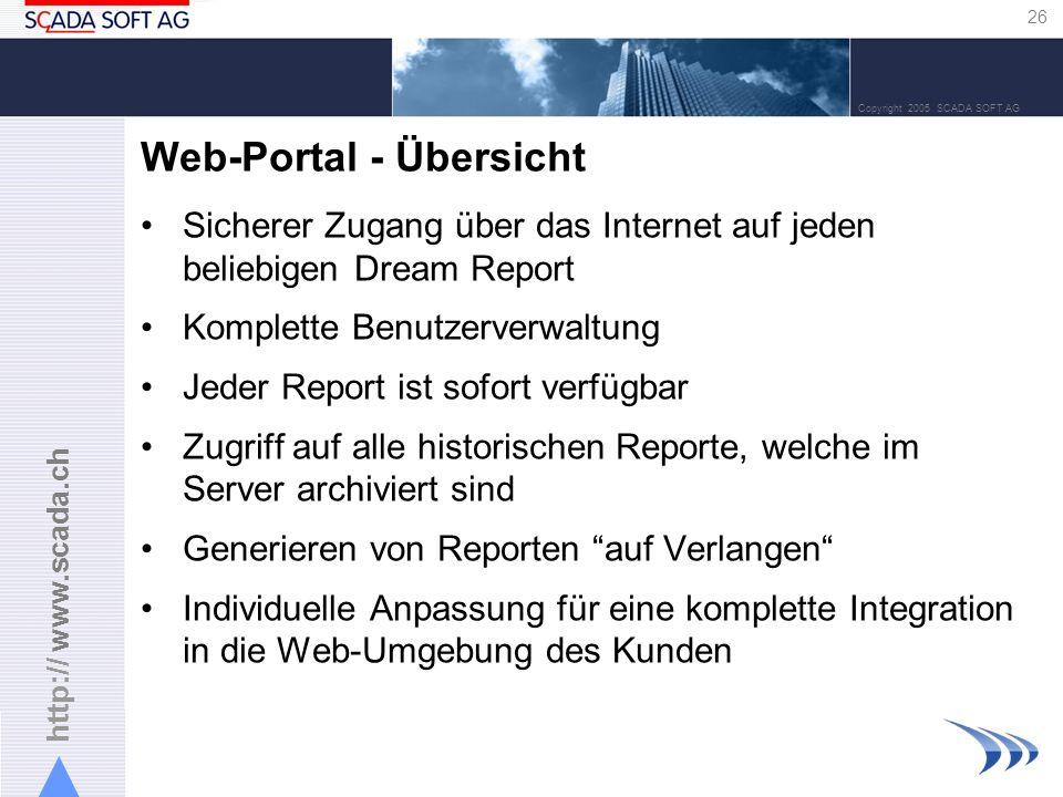 Web-Portal - Übersicht