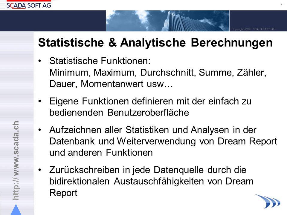 Statistische & Analytische Berechnungen