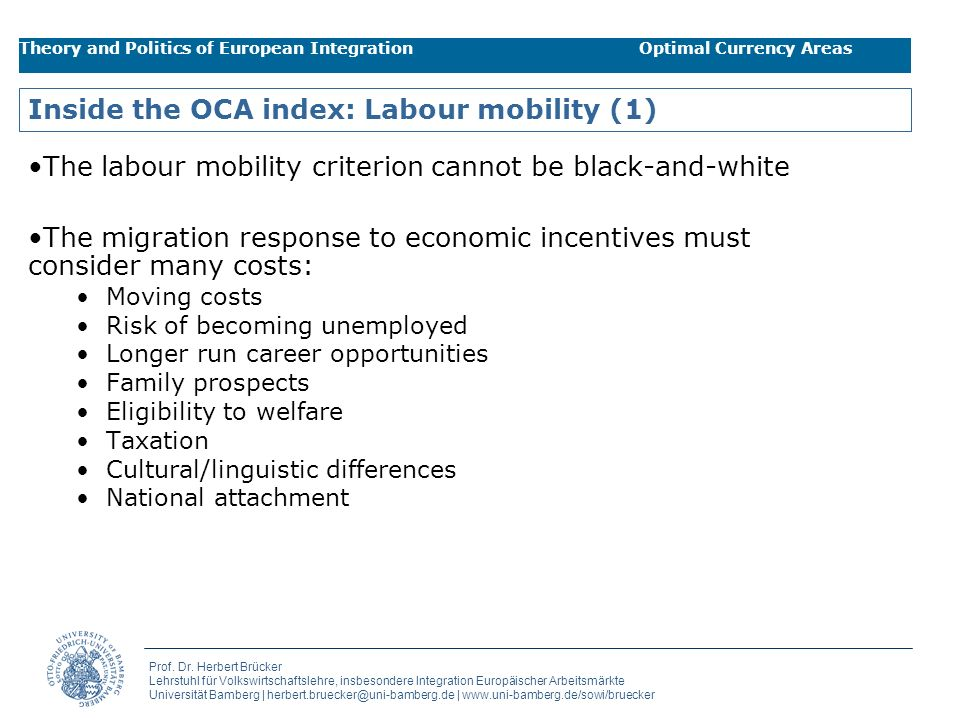 Inside the OCA index: Labour mobility (1)