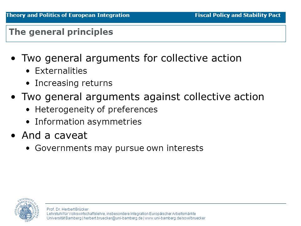 The general principles