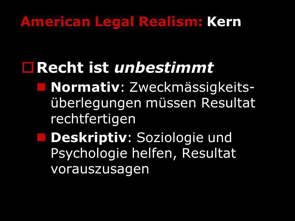 American Legal Realism: Kern