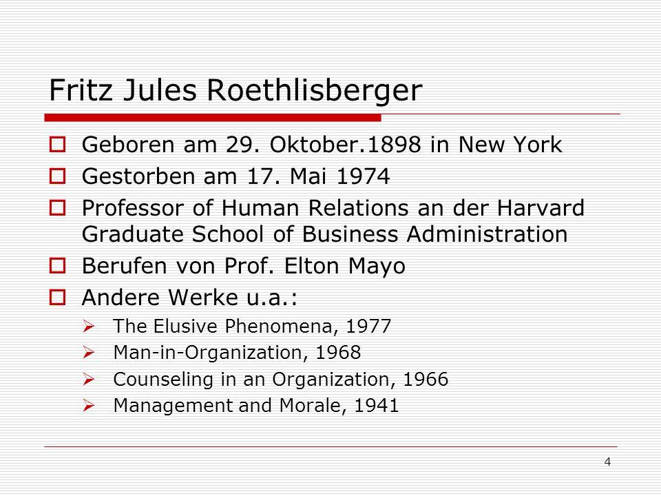 Fritz Jules Roethlisberger