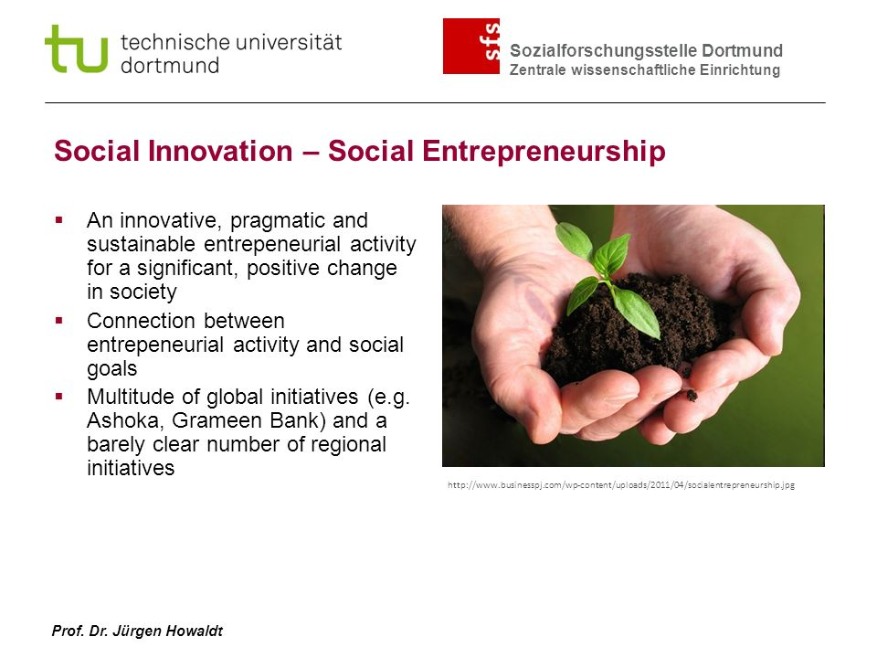 Social Innovation – Social Entrepreneurship