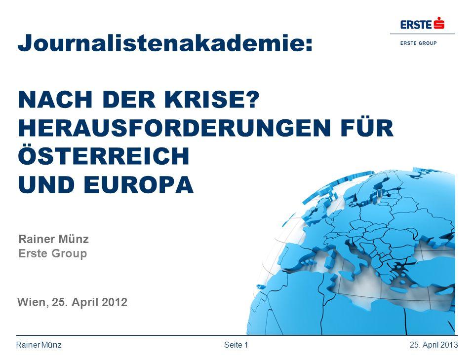 Journalistenakademie: Nach der Krise
