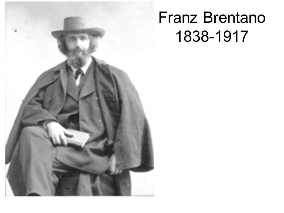 Franz Brentano 1838-1917