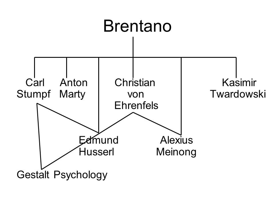 Brentano Carl Anton Christian Kasimir Stumpf Marty von Twardowski