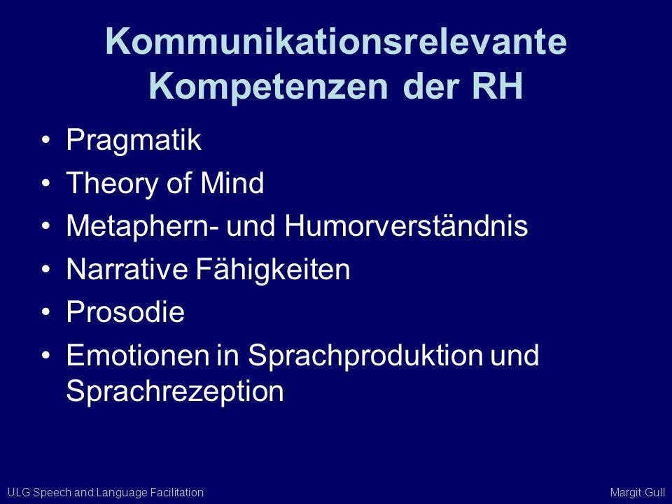 Kommunikationsrelevante Kompetenzen der RH