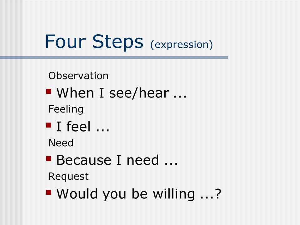 Four Steps (expression)