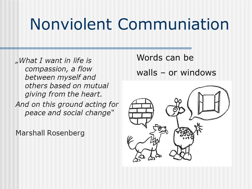 Nonviolent Communiation