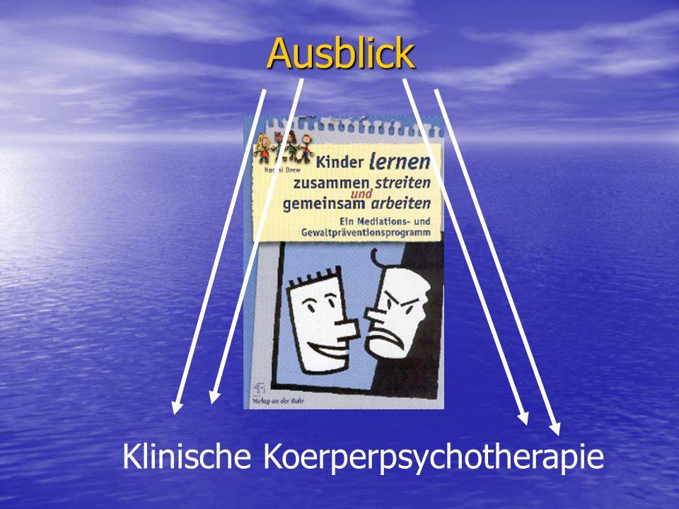 Ausblick Klinische Koerperpsychotherapie