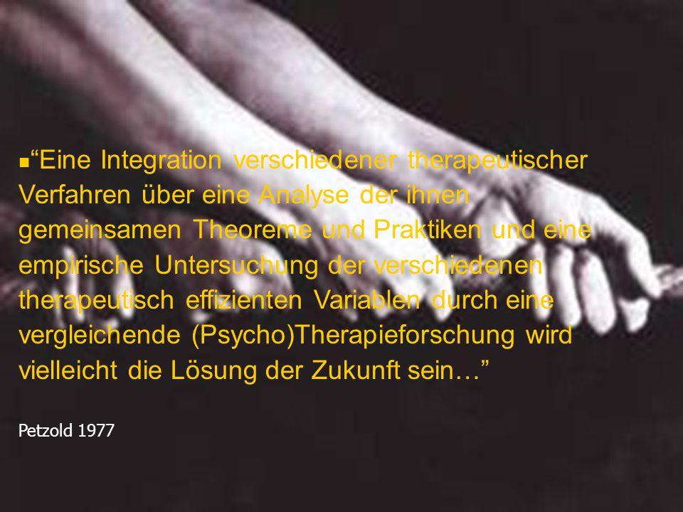 Eine Integration verschiedener therapeutischer