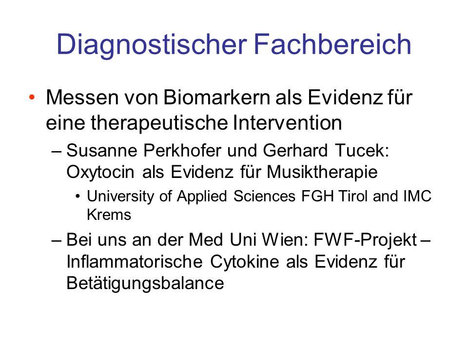 Diagnostischer Fachbereich
