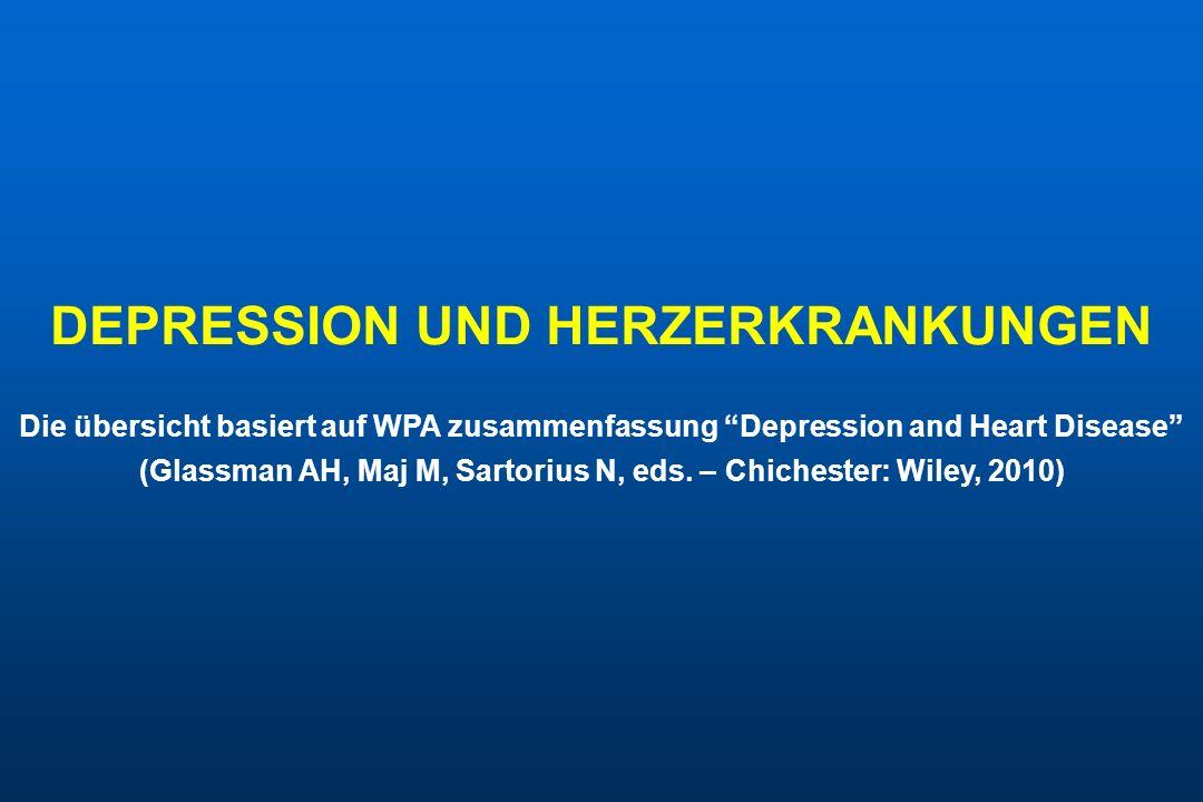 DEPRESSION UND HERZERKRANKUNGEN