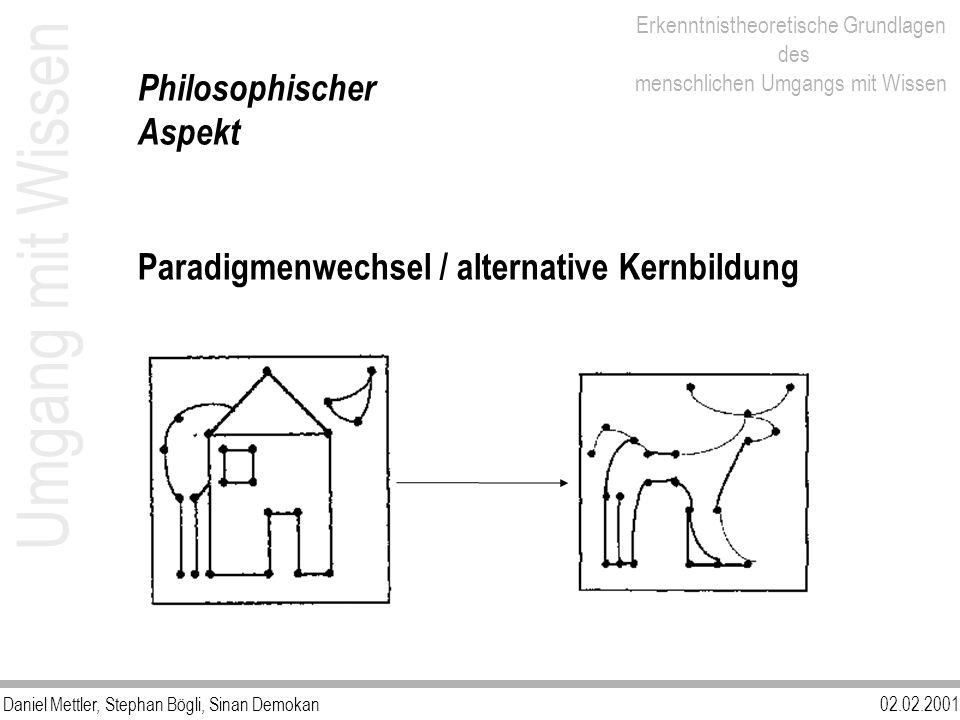 Umgang mit Wissen Philosophischer Aspekt