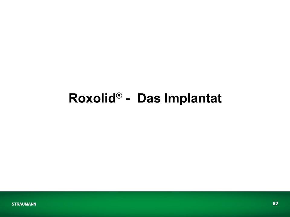 Roxolid® - Das Implantat