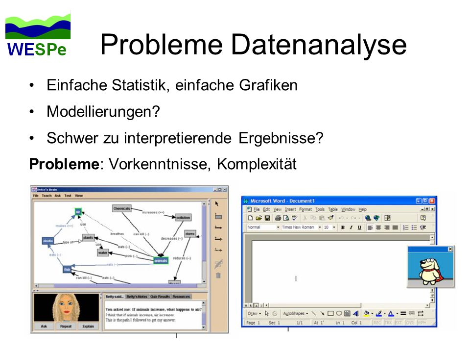 Probleme Datenanalyse