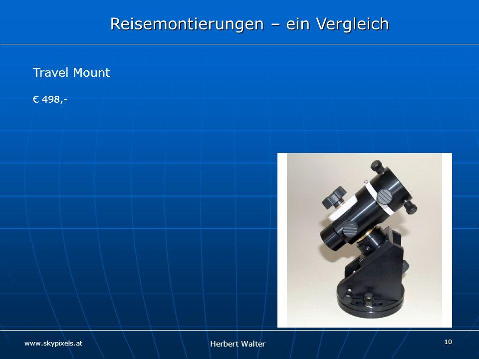 Travel Mount € 498,-