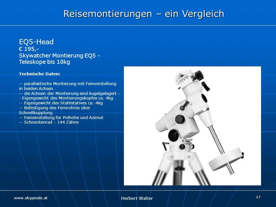 EQ5-Head € 195,- Skywatcher Montierung EQ5 - Teleskope bis 10kg