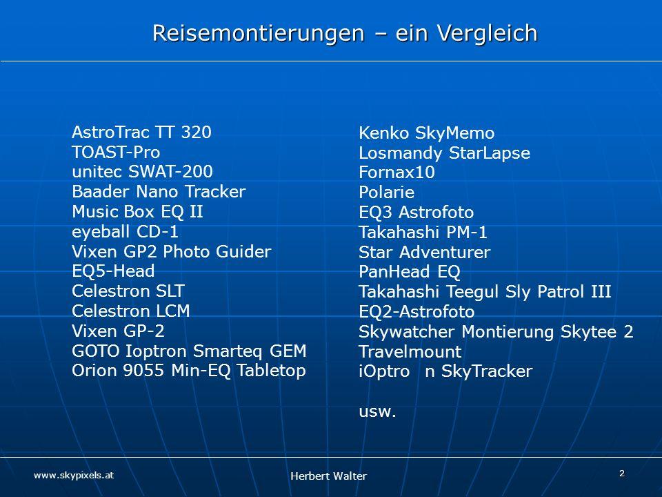 AstroTrac TT 320 TOAST-Pro. unitec SWAT-200. Baader Nano Tracker. Music Box EQ II. eyeball CD-1.