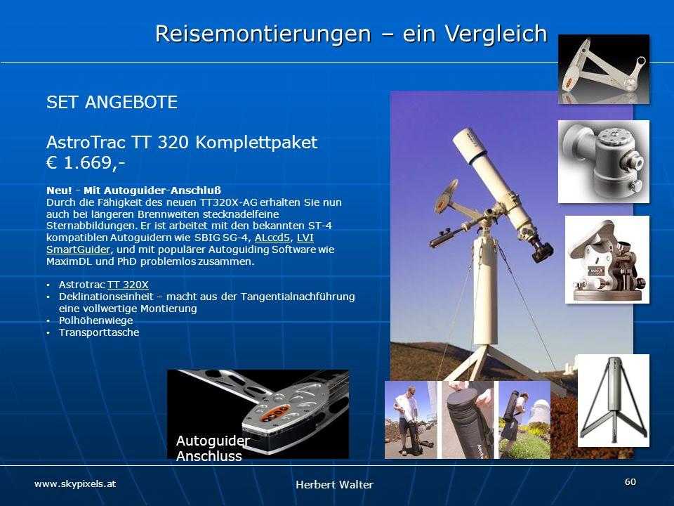 AstroTrac TT 320 Komplettpaket € 1.669,-