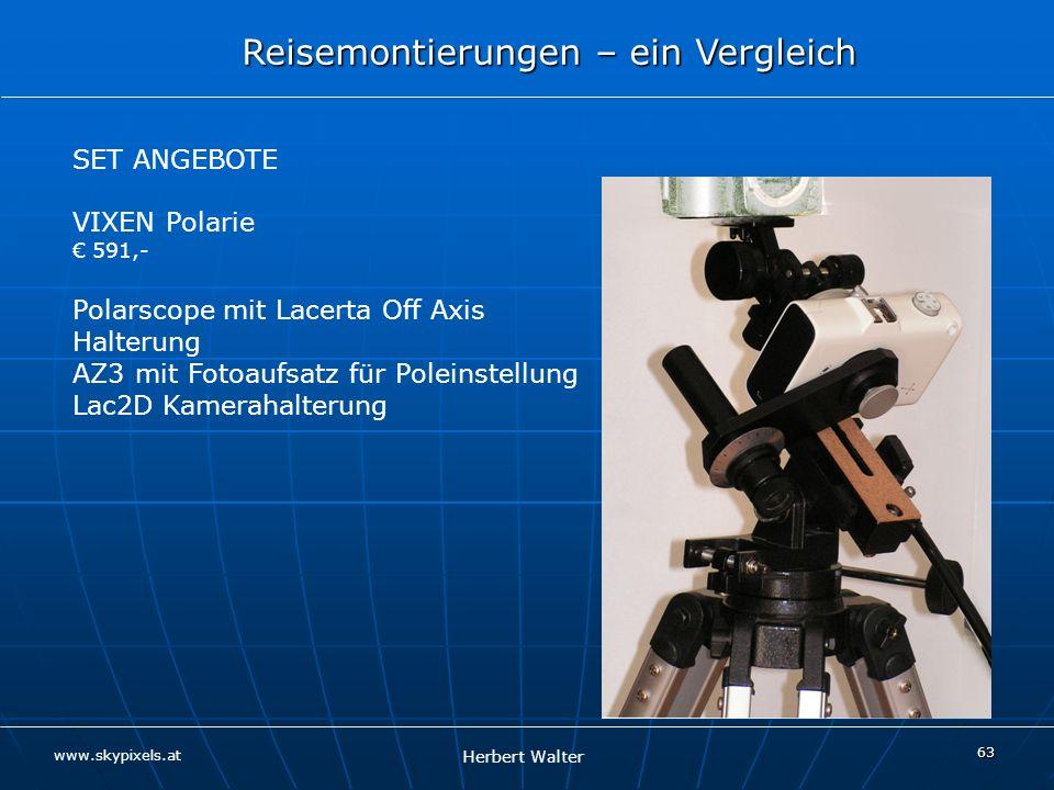 Polarscope mit Lacerta Off Axis Halterung