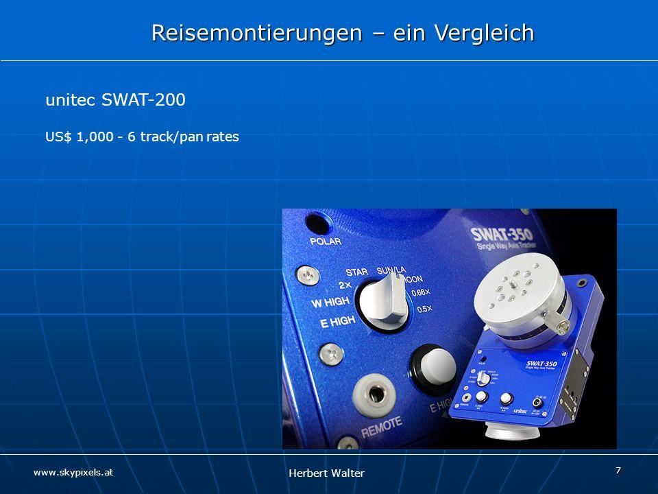 unitec SWAT-200 US$ 1,000 - 6 track/pan rates