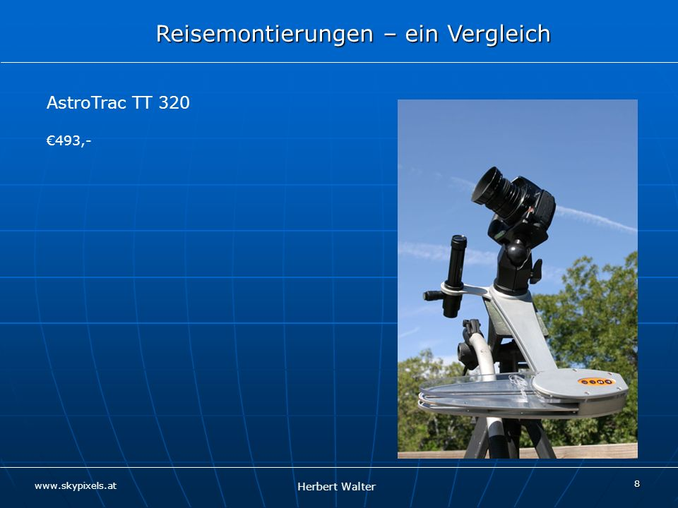 AstroTrac TT 320 €493,-