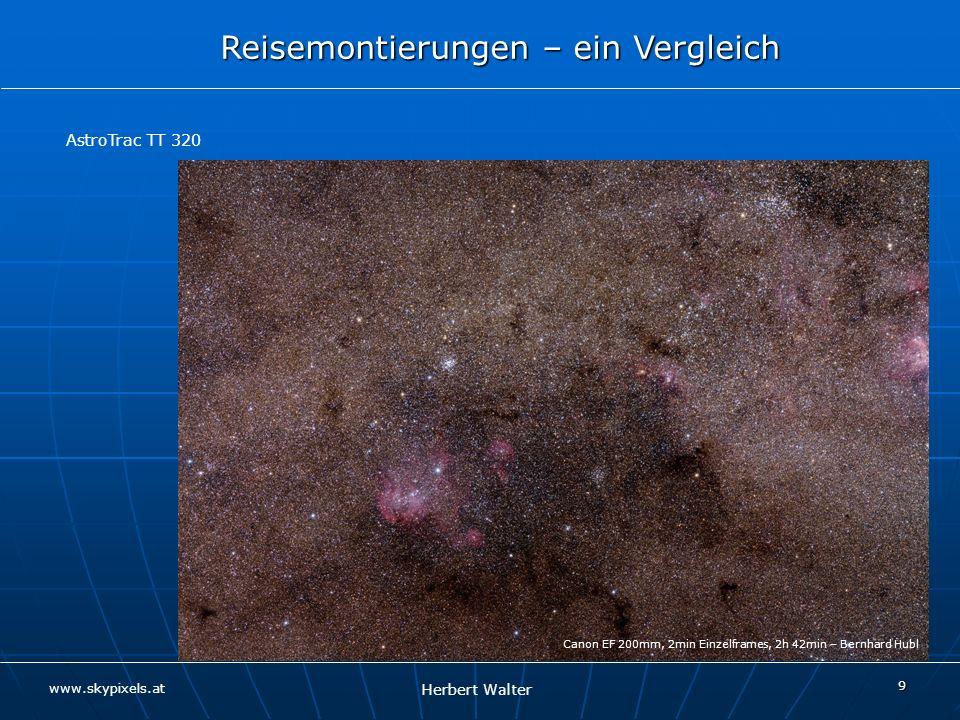 AstroTrac TT 320 Canon EF 200mm, 2min Einzelframes, 2h 42min – Bernhard Hubl