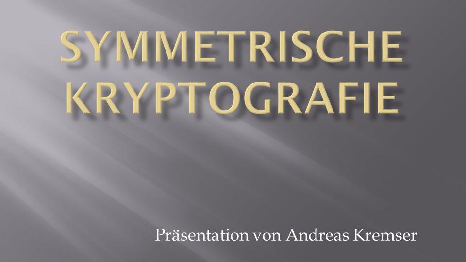 Symmetrische Kryptografie