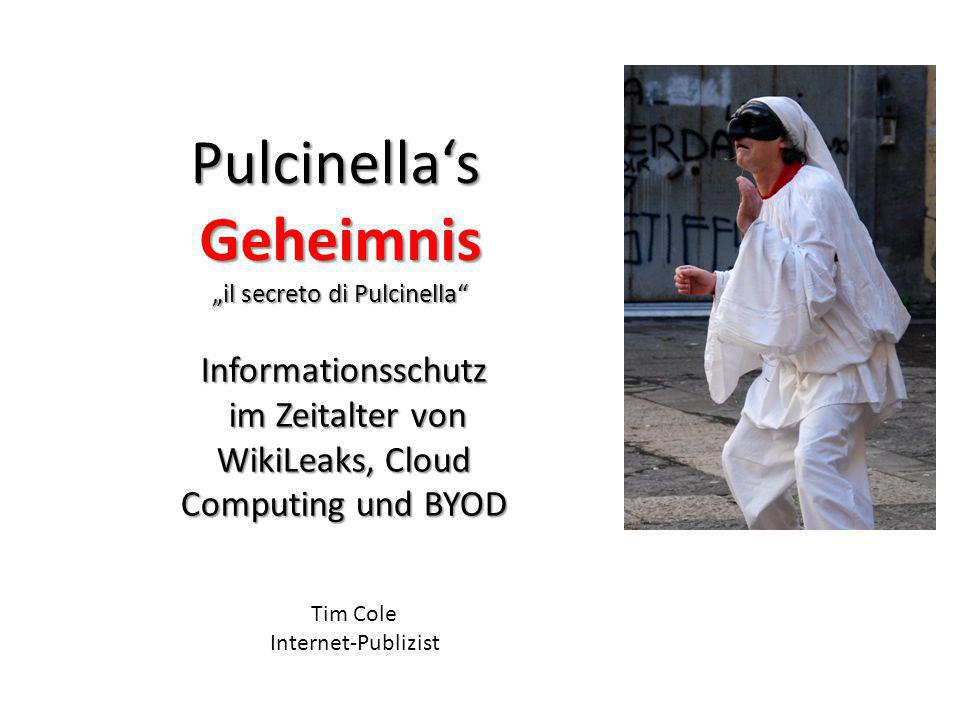 """""""il secreto di Pulcinella"""