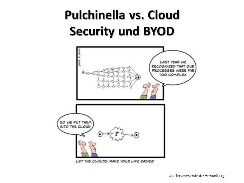 Pulchinella vs. Cloud Security und BYOD