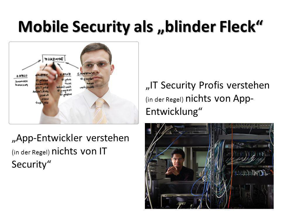 "Mobile Security als ""blinder Fleck"