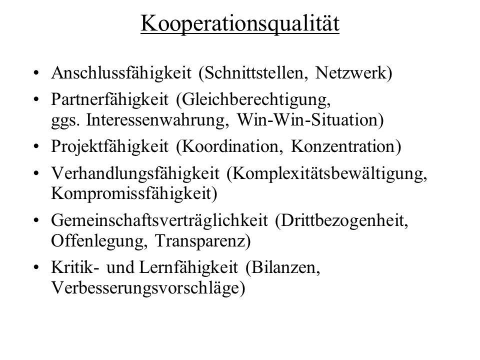 Kooperationsqualität