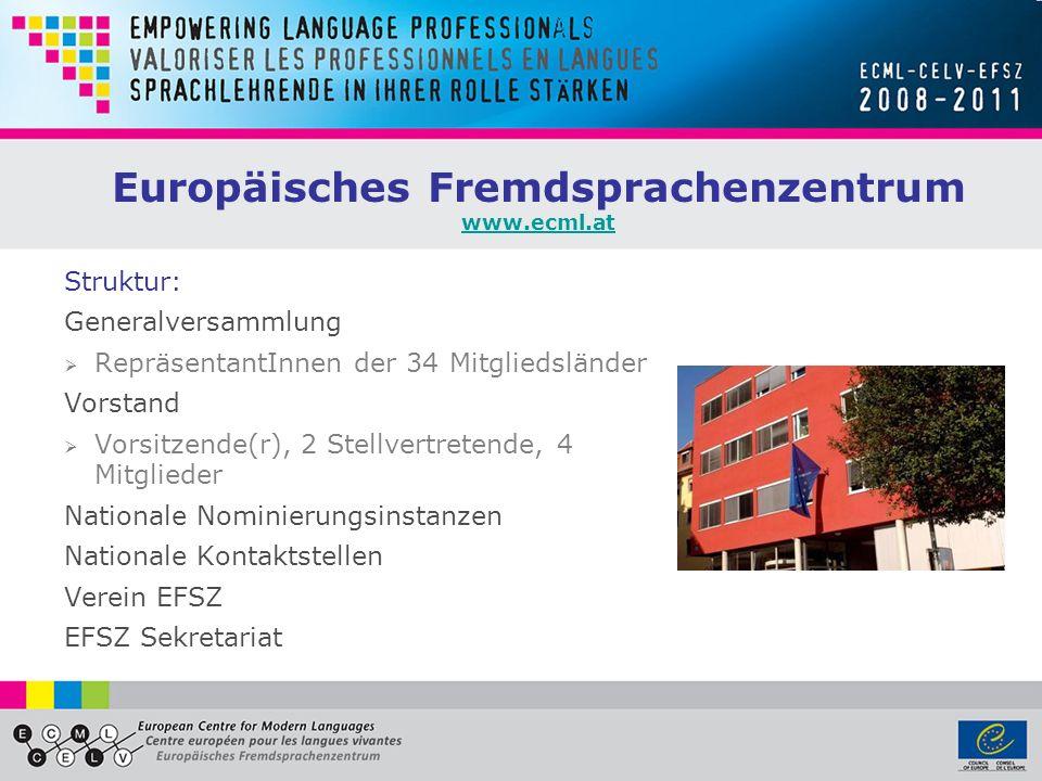 Europäisches Fremdsprachenzentrum www.ecml.at