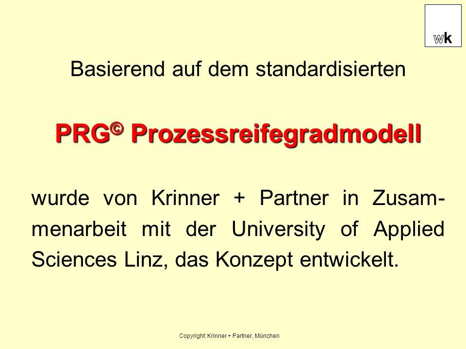 PRG© Prozessreifegradmodell