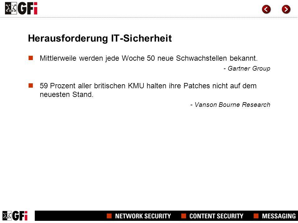 Herausforderung IT-Sicherheit