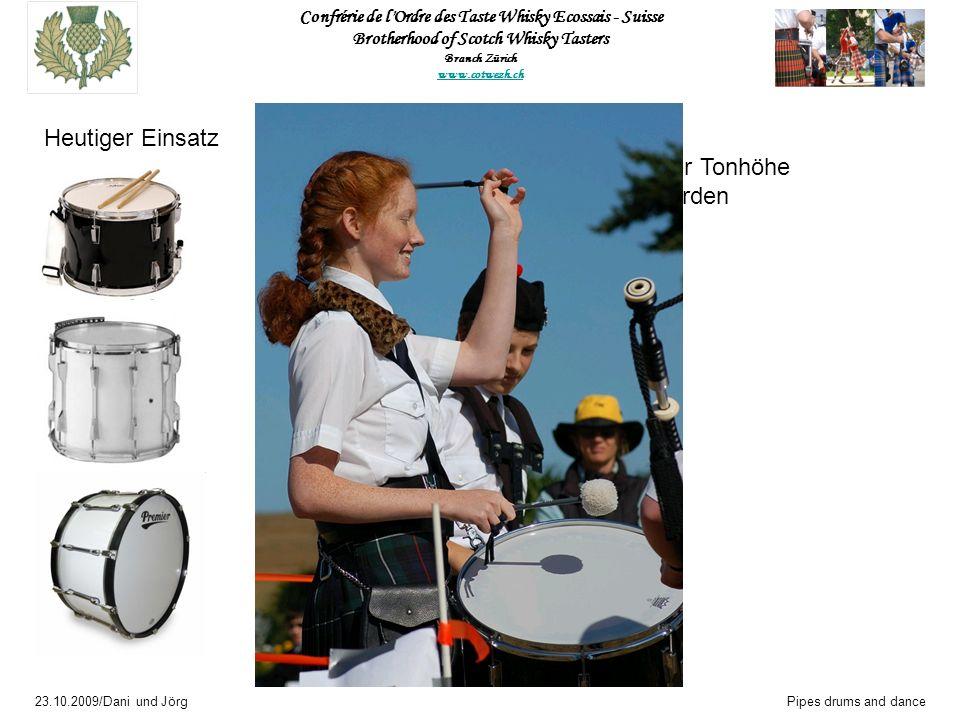 Heutiger Einsatz Snare-drum Instrument unbestimmter Tonhöhe