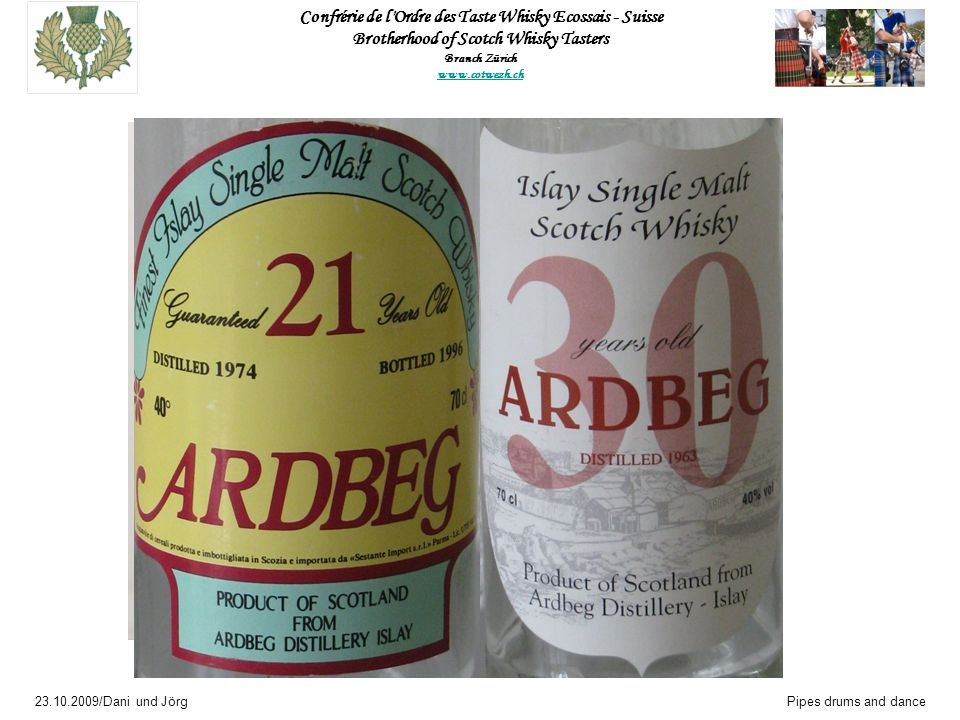 Ardbeg 21 years old 1974 – 1996 40 % Vol Bottle 577 of 600