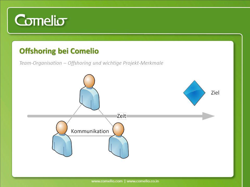 Team-Organisation – Offshoring und wichtige Projekt-Merkmale