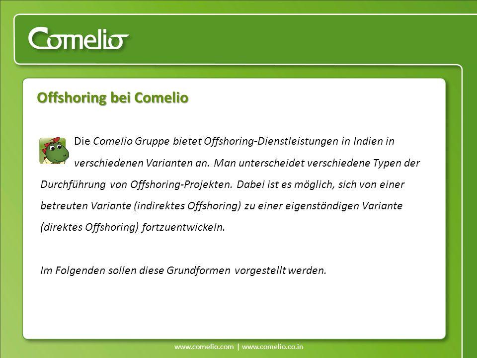 Offshoring bei Comelio