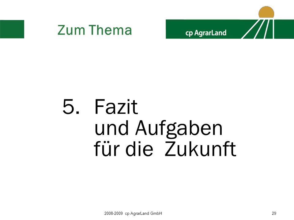 5. Fazit und Aufgaben für die Zukunft