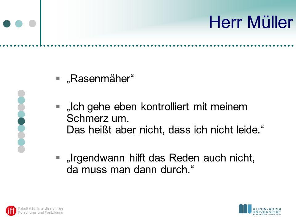 """Herr Müller """"Rasenmäher"""