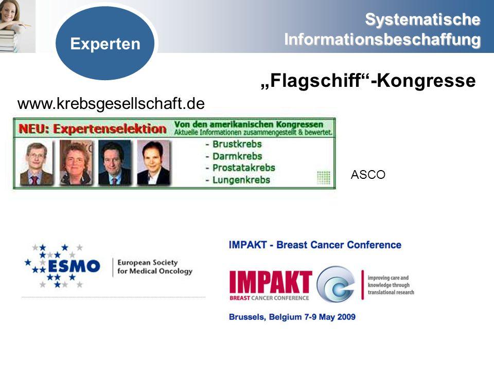 """""""Flagschiff -Kongresse"""