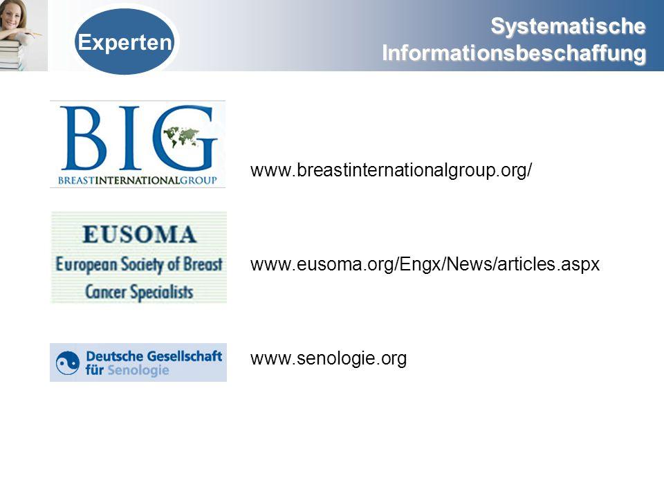 Experten www.breastinternationalgroup.org/