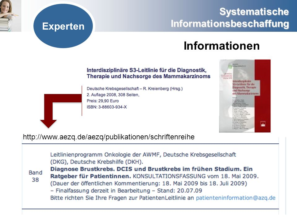 Informationen Experten