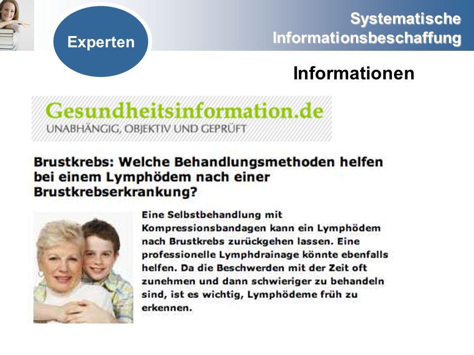 Experten Informationen