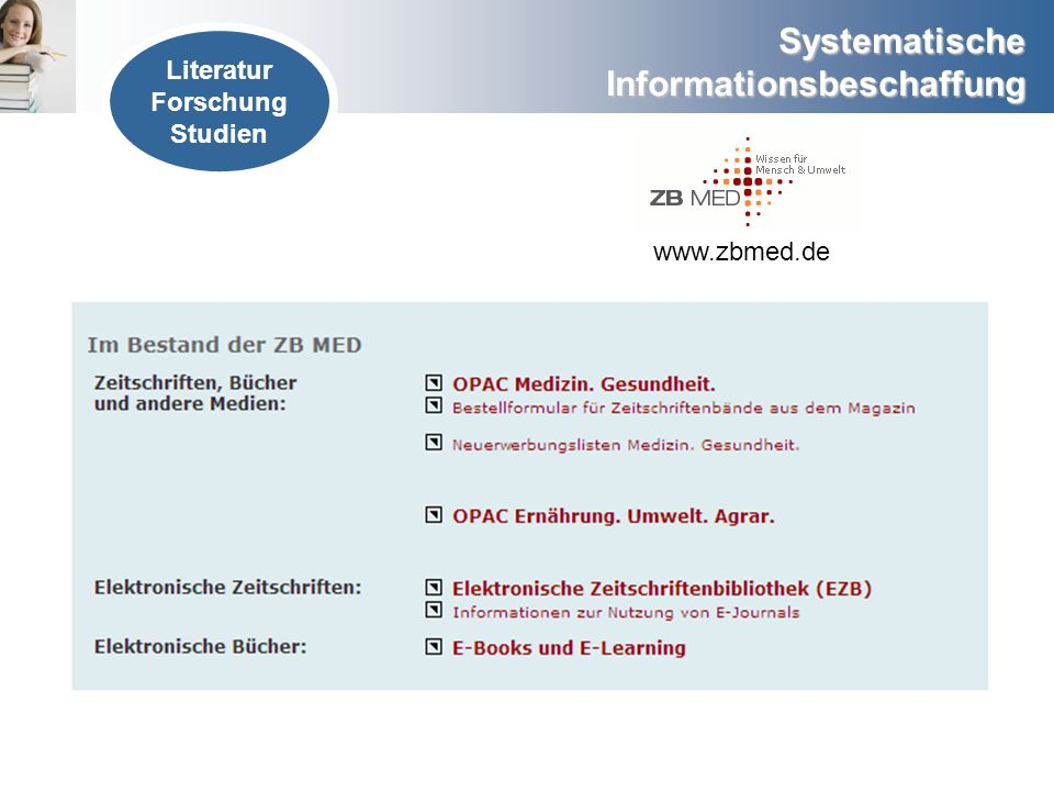 Literatur Forschung Studien