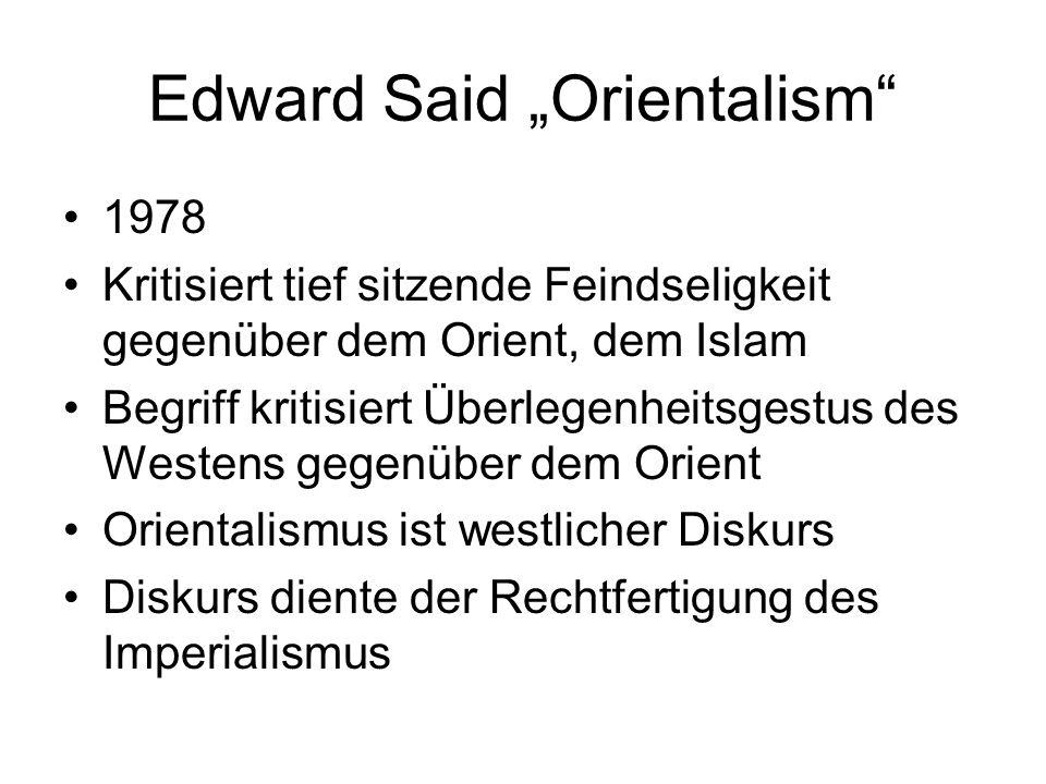 "Edward Said ""Orientalism"
