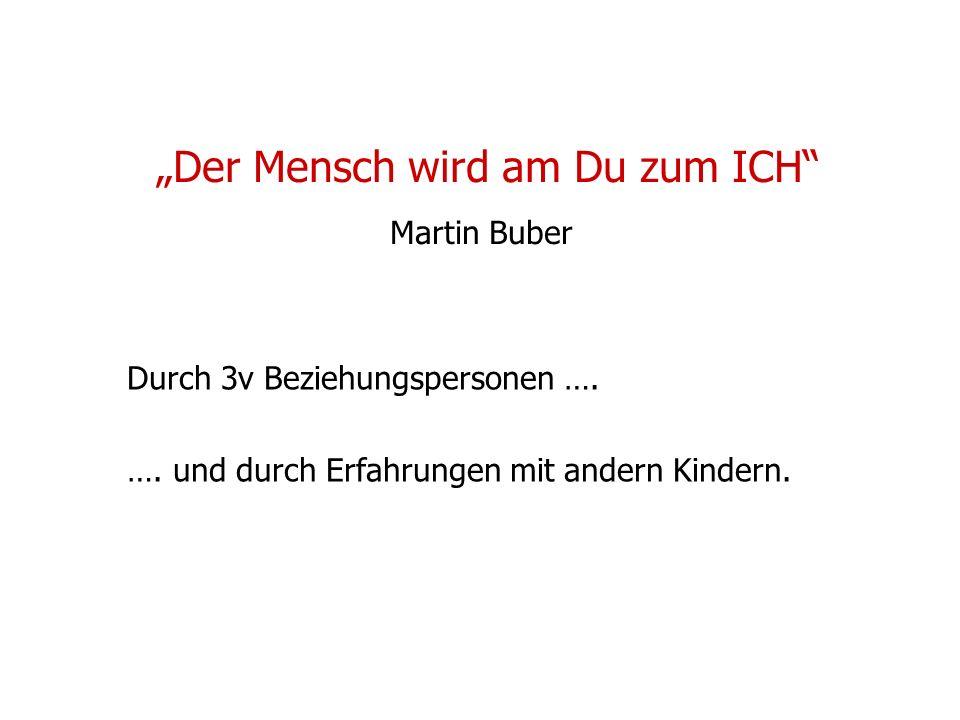 """""""Der Mensch wird am Du zum ICH Martin Buber"""