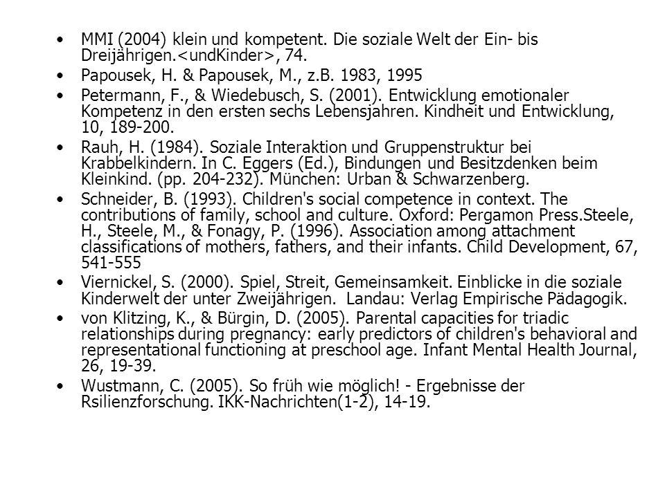 MMI (2004) klein und kompetent
